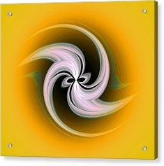 Acrylic Print featuring the digital art Spring Flower by Visual Artist Frank Bonilla