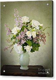 Acrylic Print featuring the photograph Spring Fragrance by Cheryl Davis