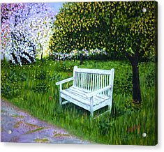 Spring Acrylic Print by Gizelle Perez