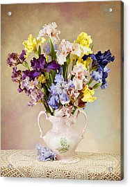 Acrylic Print featuring the photograph Spring Grand Finale by Cheryl Davis