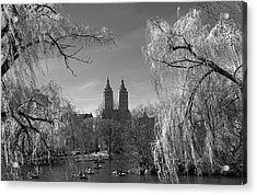 Acrylic Print featuring the photograph Spring In Central Park by Yelena Rozov