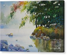Spring In Quiet Acrylic Print
