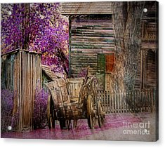 Acrylic Print featuring the digital art Spring  by Irina Hays
