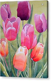 Acrylic Print featuring the painting Spring by Laurel Best