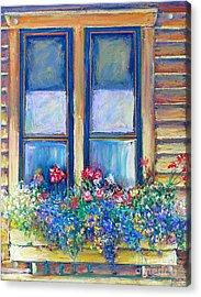 Spring Acrylic Print by Li Newton