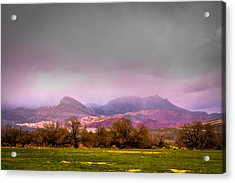 Spring Mountain Ranch In Red Rock Canyon Acrylic Print by David Patterson