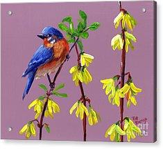 Spring Acrylic Print by Pat Burns