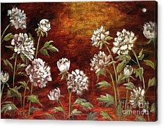 Spring Peonies Acrylic Print