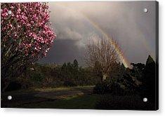 Spring Rainbow Acrylic Print