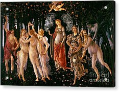 Spring Acrylic Print by Sandro Botticelli