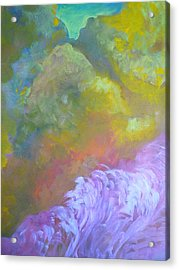Springscape Acrylic Print by George  Page