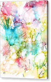 Springtime Blossoms Acrylic Print by Christine Crawford