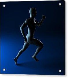 Sprinter, Artwork Acrylic Print by Sciepro