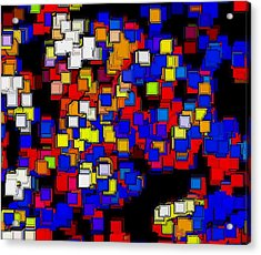 Squares Selection Number 2 Acrylic Print by Rod Saavedra-Ferrere