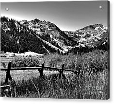 Squaw Valley At Lake Tahoe Acrylic Print by Anne Raczkowski
