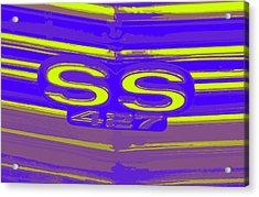 Ss 427 Super Sport Acrylic Print by Chuck Re