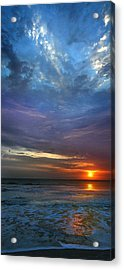 Acrylic Print featuring the photograph St. Augustine Sunrise by Rod Seel