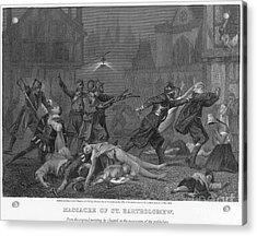 St Bartholomews Massacre Acrylic Print by Granger