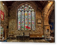 St Dyfnog Acrylic Print by Adrian Evans