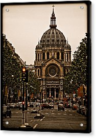 Paris, France - St. Etienne Acrylic Print