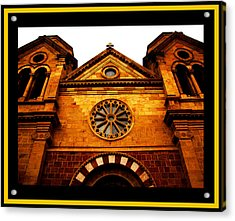 Acrylic Print featuring the photograph St. Francis Basilica Cathedral by Susanne Still