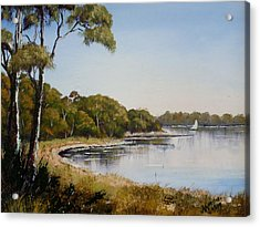 St Georges Basin - Early Morning Acrylic Print