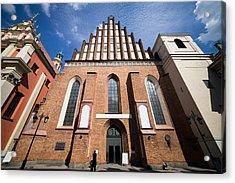 St. John Archcathedral In Warsaw Acrylic Print by Artur Bogacki