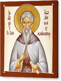 St John Climacus Acrylic Print