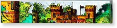 St John's Castle Turkey Acrylic Print by Phil Strang