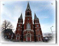 St. Josaphat Roman Catholic Church Detroit Michigan Acrylic Print by Gordon Dean II