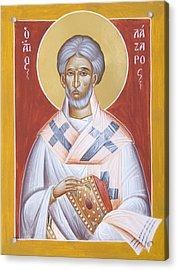 St Lazarus Acrylic Print by Julia Bridget Hayes