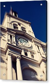 St Louis Cathedral Acrylic Print by Erin Johnson