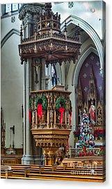 St Louis Church 11 Acrylic Print by Chuck Alaimo