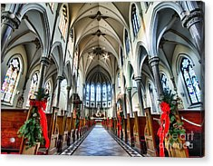 St Louis Church 4 Acrylic Print by Chuck Alaimo