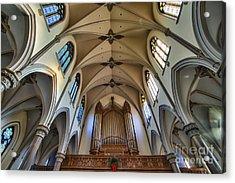 St Louis Church 8 Acrylic Print by Chuck Alaimo