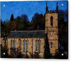 St Luke's Church Ironbridge Acrylic Print