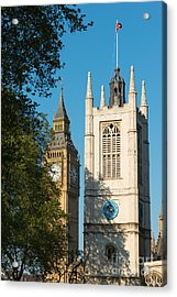 St Margarets Church Westminster  Acrylic Print by Andrew  Michael