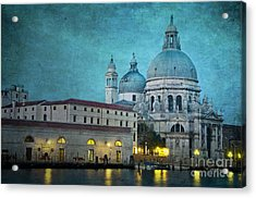 St Maria Della Salute From St Mark's  Acrylic Print by Marion Galt