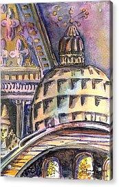 St Marks Of Venice Acrylic Print
