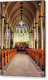 St. Mary's Basilica Halifax Acrylic Print by Kristin Elmquist