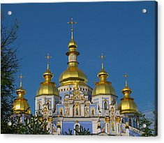 Acrylic Print featuring the photograph St. Michael's Cathedral by David Gleeson
