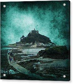 St Michaels Mount Acrylic Print by Svetlana Sewell