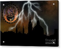St Nikolas Church - Prague Acrylic Print