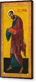 St Paul Acrylic Print by Jennifer Richard-Morrow