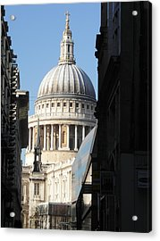 St Pauls Cathedral - London Acrylic Print by Dickon Thompson