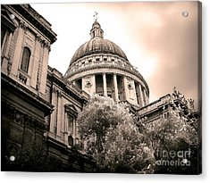 St. Paul's Cathedral Acrylic Print by Thanh Tran