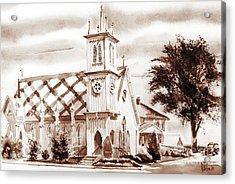 St. Pauls Episcopal Church IIi Acrylic Print by Kip DeVore