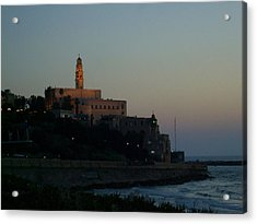 St. Peter's Church Old Jaffa - Israel Acrylic Print by Joshua Benk