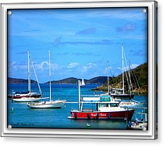 Acrylic Print featuring the photograph St-thomas Virgin Islands by Danielle  Parent