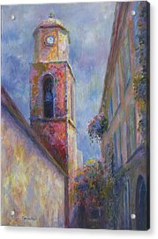 Acrylic Print featuring the painting St. Tropez by Bonnie Goedecke